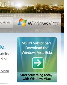 Vista Download screenshot